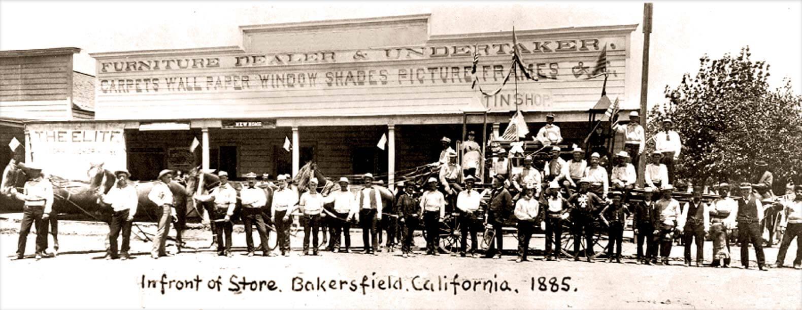 Bakersfield Store 1885