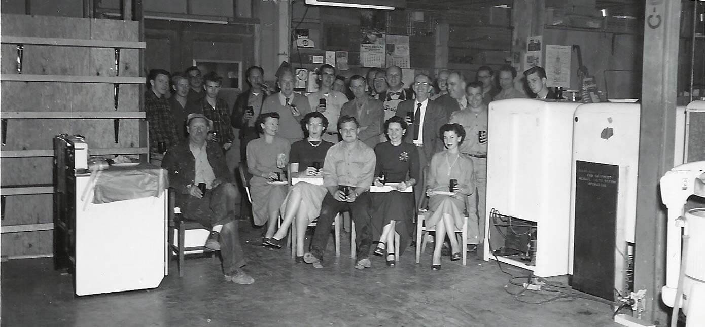 Service Department 1952